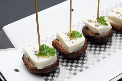 焼椎茸モッツァレラ